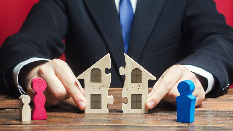 How does property get divided in a divorce?